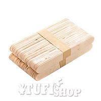 Шпатель лопатка косметологический YRE деревянный 50 шт