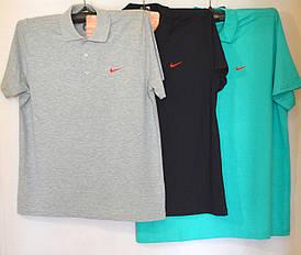 Мужская футболка Поло NIKE (лакоста), большой размер (копия)