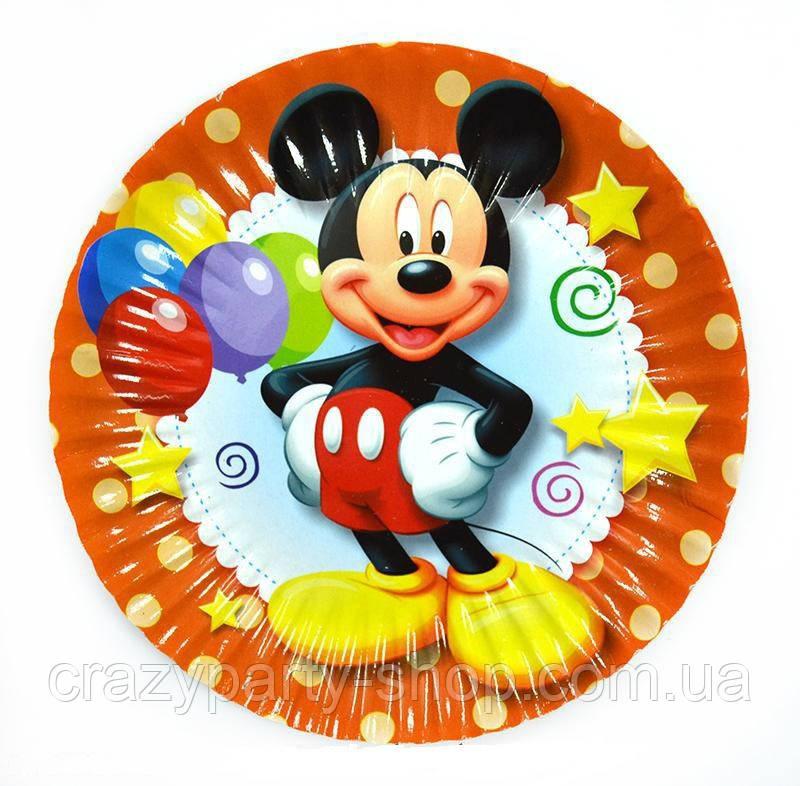Тарелочка десертная Микки Маус