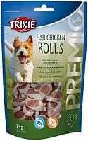 31535 Trixie Premio Fish Chicken Rolls лакомство с курицей, 75 гр