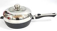 Сковородка  с керамическим покритием Swiss Zurich 28cм SZ-155-28B