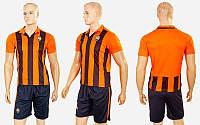 Форма футбольная детская ШАХТЕР домашняя 2017 CO-3900-SH (полиэстер, р-р XS-XL, оранжевый)
