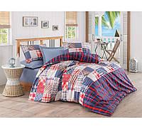 Хлопковый комплект постельного белья ЕВРО размера Cotton Box JOSE MAVI CB03