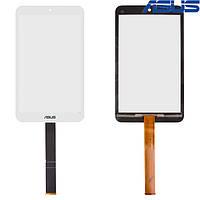 Сенсорный экран (touchscreen) для Asus MeMO Pad 8 ME181CX, белый, оригинал