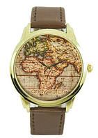 Наручные часы Карта мира AW 023