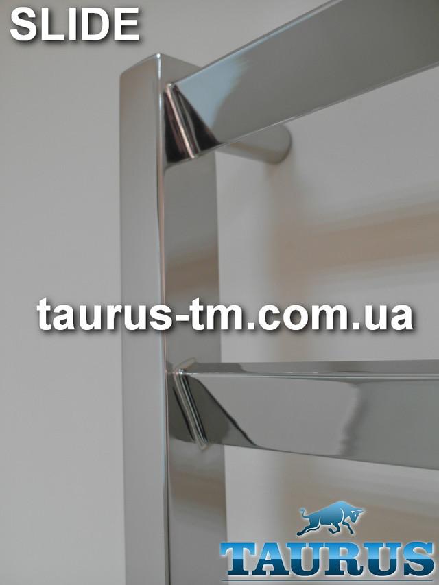 Фотография полотенцесушителя Slide из нержавеющей стали от TAURUS