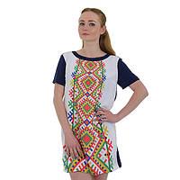 Женская молодежная этническая одежда с принтом
