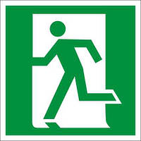 Табличка (знак) аварійний вихід
