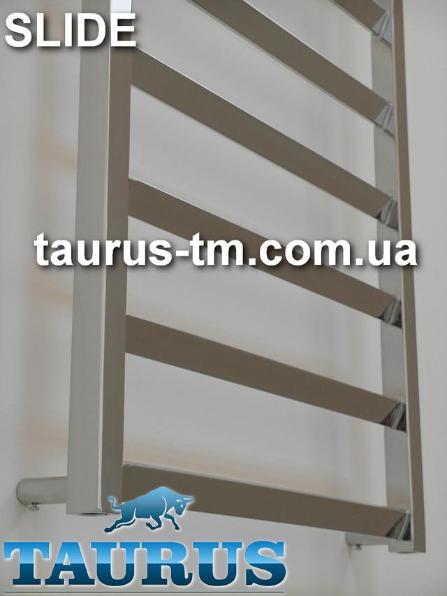 Фотография перемычек полотенцесушителя Slide из нержавеющей стали от TAURUS