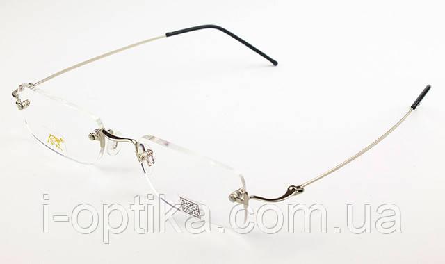 Безободковые титановые очки Tiger