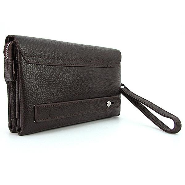 65e37e903d9e Мужской клатч Mont Blanc кожаный коричневый, цена 950 грн., купить в Днепре  — Prom.ua (ID#542418635)