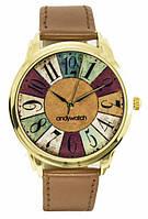 Наручные часы цифры по кругу aw 047