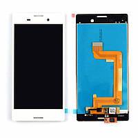 Дисплей Sony Xperia M4 Aqua E2303 / E2306/E2312/E2333/E2363 complete with touch White