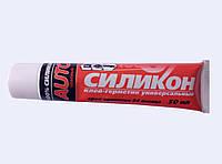 Герметик силиконовый термостойкий красный ( Автомобильный ) 50 мл.