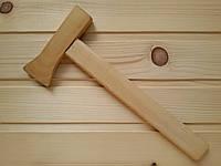 Игрушечный деревянный топорик 28 см для детей, светлый