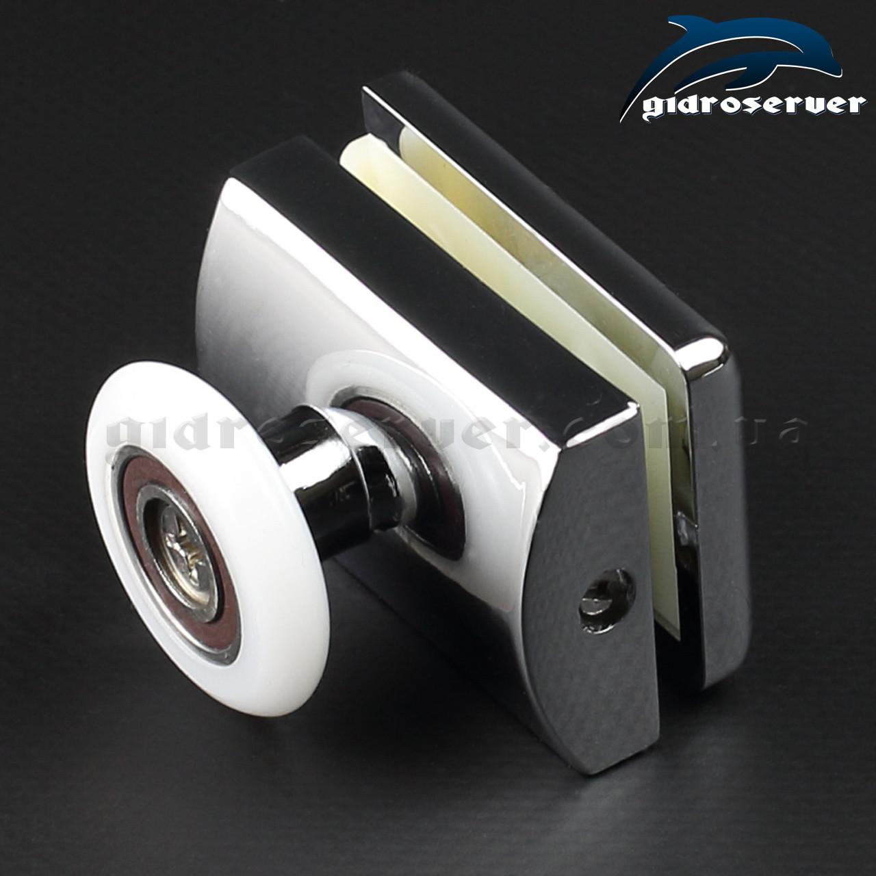 Ролики для душевой кабины M-01B с диаметрами колес от 19 до 27 мм.