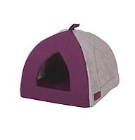 Домик для животного Пирамида Grape Purple 40х40х35 см