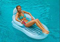 Матрас-кресло надувной пляжный Intex 58857 NP
