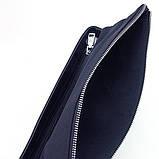 Сумка чоловіча текстильна А4 Philipp Plein 0881-6 синя через плече ділова офісна папка, фото 5