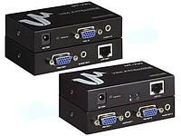 2-0237. Удлинитель VGA и аудио сигнала до 300м, MT-300T