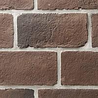 Декоративная плитка Австрийский блок (коричневый паленый)