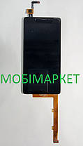 Модуль (сенсор + дисплей) Lenovo K3/A6000/A6010 чорний, фото 2
