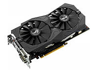 Видеокарта GeForce GTX1050 OC, Asus, GAMING, 2Gb DDR5, 128-bit, 2xDVI/HDMI/DP, 1569/7008 MHz (STRIX-GTX1050-O2G-GAMING)