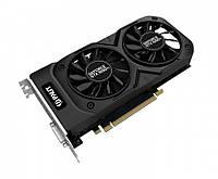 Видеокарта GeForce GTX1050Ti, Palit, Dual, 4Gb DDR5, 128-bit, DVI/HDMI/DP, 1392/7000 MHz (NE5105T018G1-1071D)
