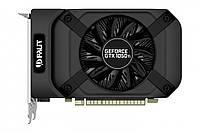 Видеокарта GeForce GTX1050Ti, Palit, StormX, 4Gb DDR5, 128-bit, DVI/HDMI/DP, 1392/7000 MHz (NE5105T018G1-1070F