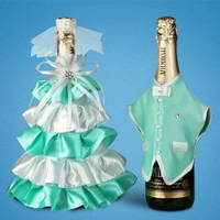 Украшение (одежда)  для свадебного шампанского  2706-31