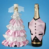 Украшение (одежда)  для свадебного шампанского  2706-32