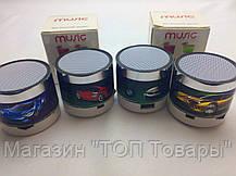 Мини-колонка Bluetooth HLD-600 microSD USB FM!Опт, фото 3