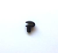 Петля  металлическая черная