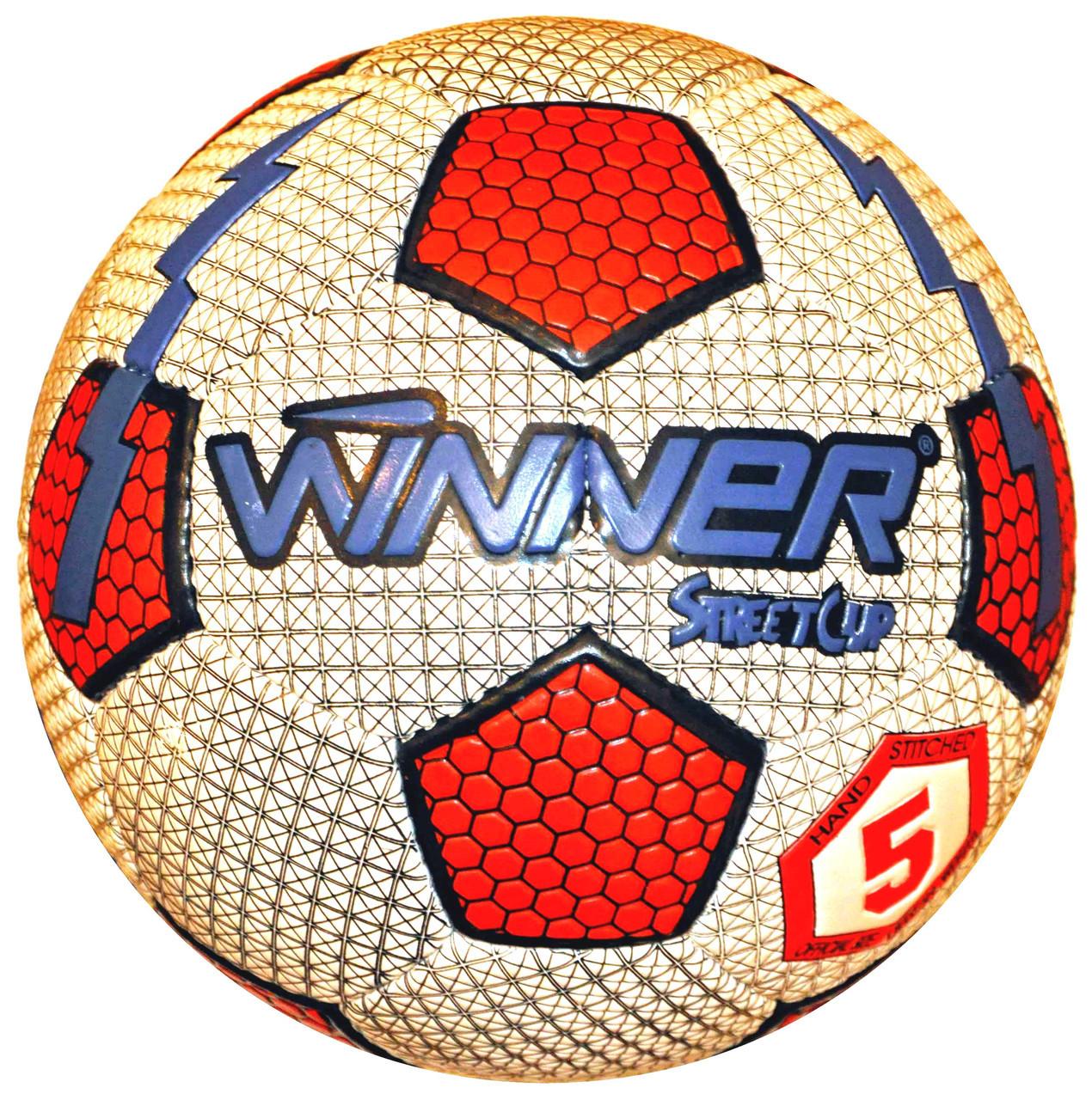 М'яч футбольний Winner Street Cup