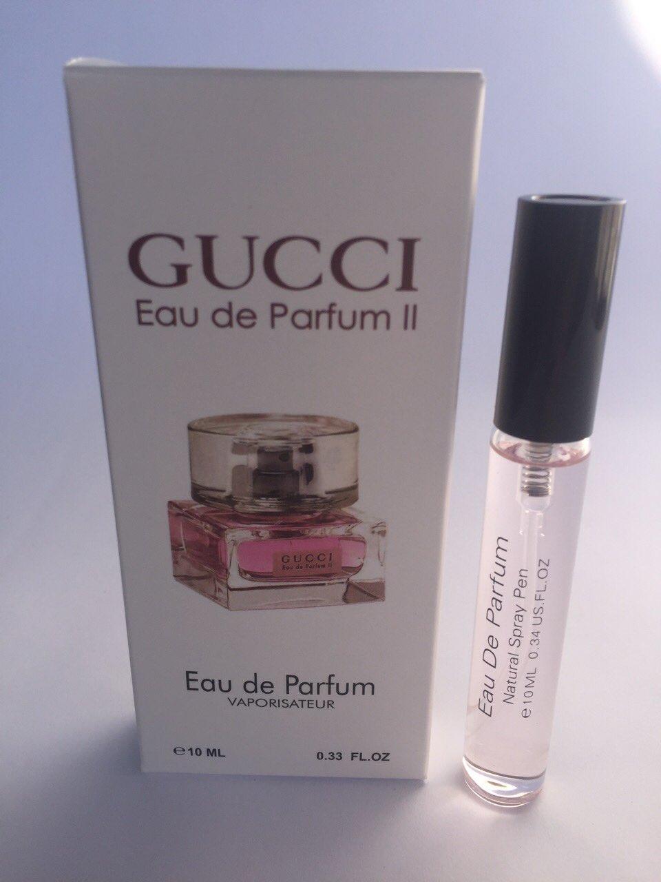 купить женский мини парфюм с феромонами Gucci Eau De Parfum 2 гуччи