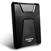 Внешний жесткий диск 2Tb A-Data DashDrive Durable HD650, Black, 2.5', USB 3.0 (AHD650-2TU3-CBK)