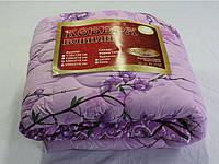 Одеяло стеганное полуторное Голд, шерсть 150х210