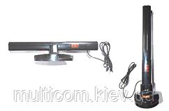 10-00-04. Антенна ТВ комнатная универсальная активная+ USB, AR-605A