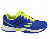 Кроссовки для большого тенниса детские юношеские BABOLAT PULSION AC BL JUNIOR