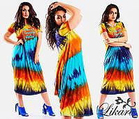 Женское платье из натуральной вискозы