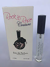 Женский мини парфюм с феромонамиValentino Rock n' Rose (Валентино Рок энд Роуз Кутюр) 10 мл