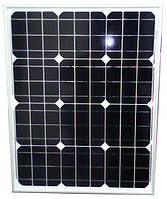 Солнечная батарея 50 Вт (моно), PLM-050M-36