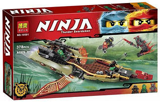 """Конструктор Bela Ninja (Ниндзя) 10581 (аналог Lego Ninjago 70623) """"Тень судьбы"""" 378 дет"""
