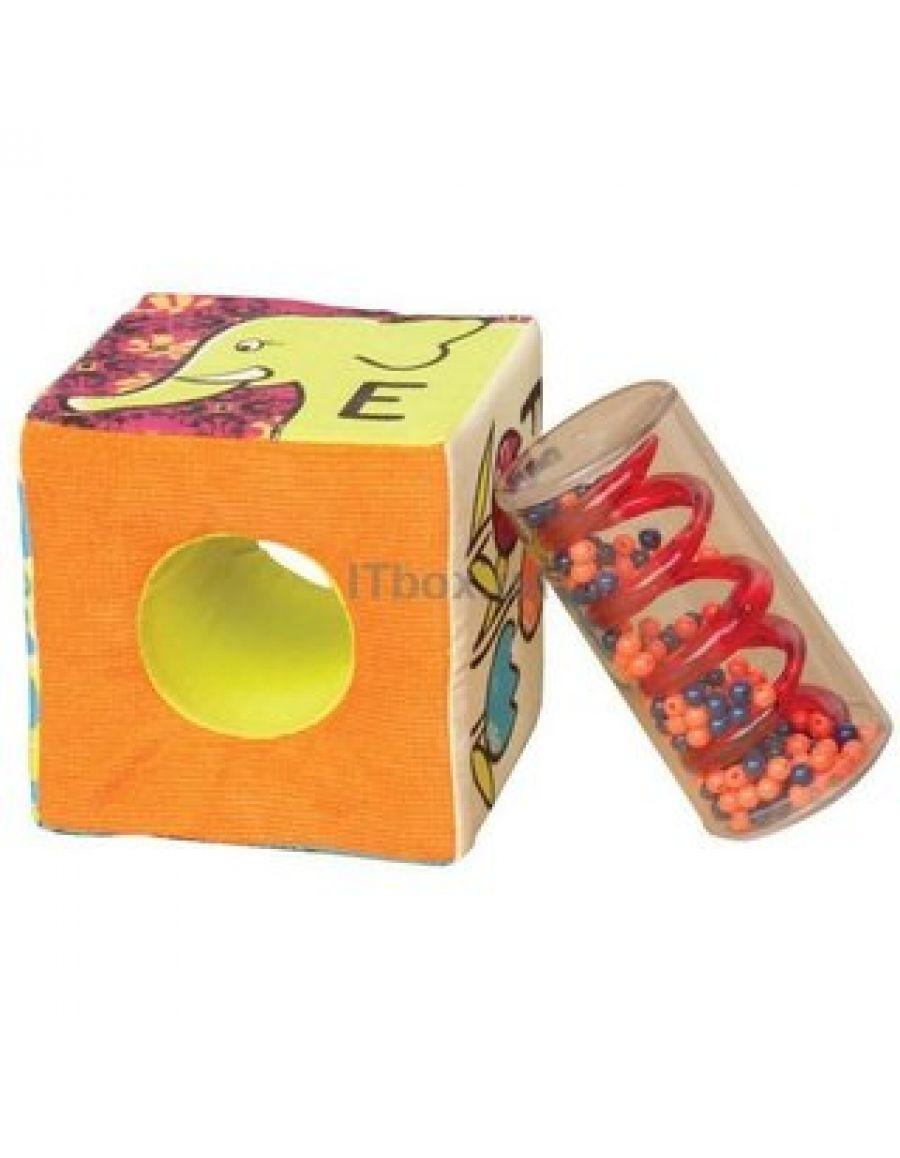 Развивающие мягкие кубики-сортеры ABC BX1368Z