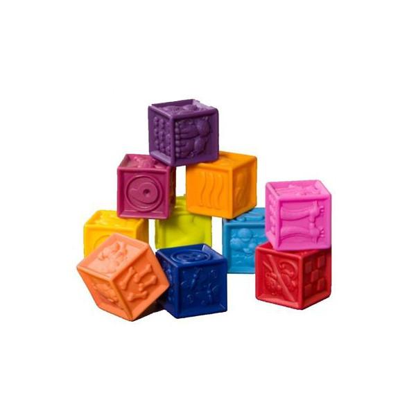 Развивающие силиконовые кубики - ПОСЧИТАЙ-КА! BX1002Z