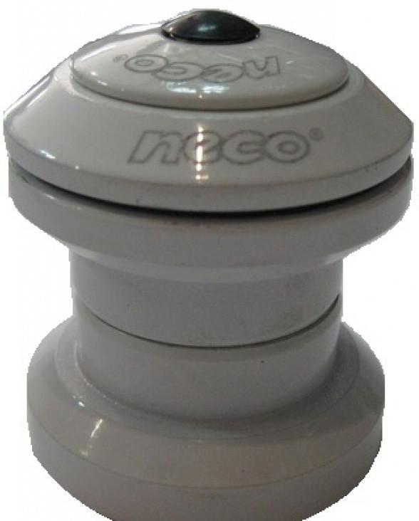 """Рульова 1-1\8"""" чашки з гострими кутами, пром підшипник, білий (H-773-WH) NECO"""