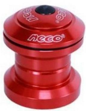 """Рульова 1-1\8"""" чашки з гострими кутами, пром підшипник, червоний (H-773-RED) NECO"""