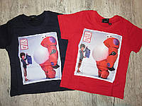 Футболка для мальчиков Disney ,3,4,5,6,8 лет.