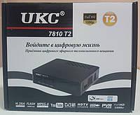 Цифровой эфирный DVB-T2 тюнер приставка ресивер UKC 7810 T2