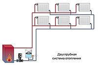Способы  разводки труб отопления
